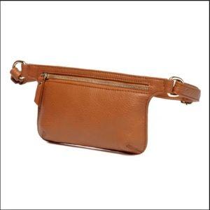 Vincenzo Arlette Genuine Leather Waist Bag NEW